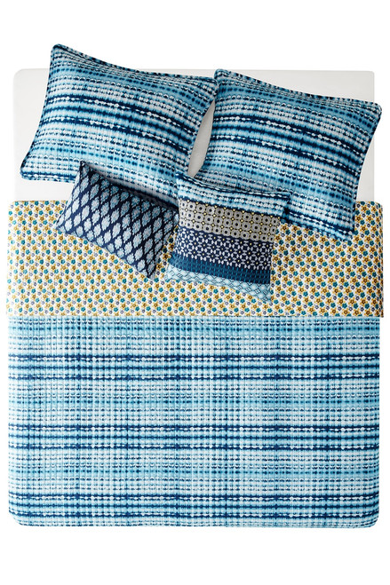 Josie Breeze Reversible Quilt 5 Pc Set at The Natori Company