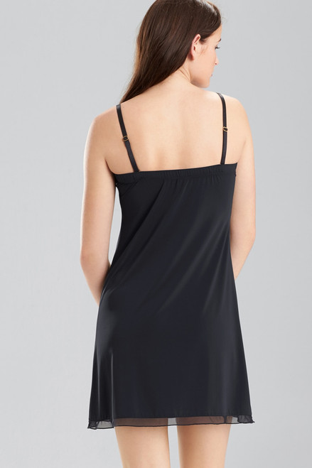 Josie Natori Slip with Detachable Straps at The Natori Company