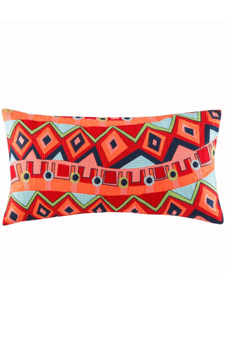Josie Hollywood Boho Oblong Pillow at The Natori Company