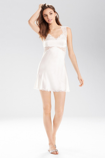 Buy Josie Natori Stretch Silk Charmeuse Chemise from