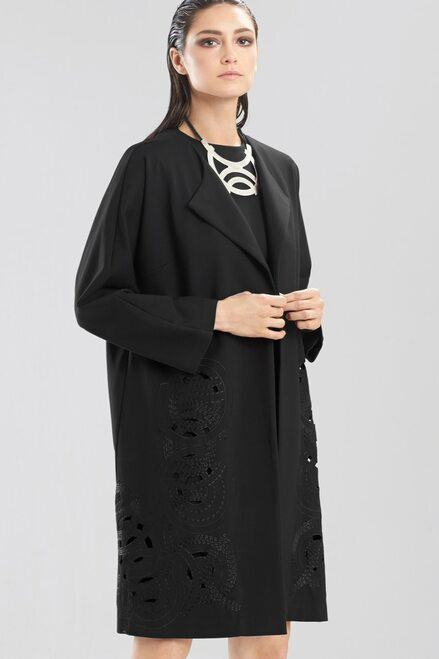 Double Knit Jersey Jacket at The Natori Company