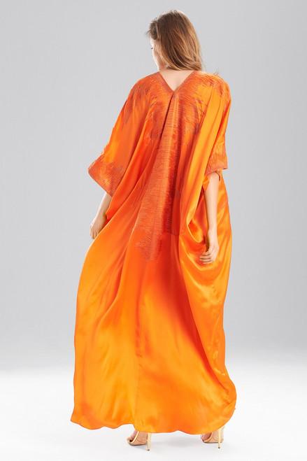 Josie Natori Couture Modern Ikat Caftan at The Natori Company