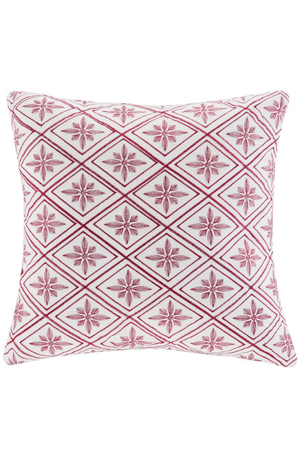 Buy N Natori Cherry Blossom Geometric Square Pillow from