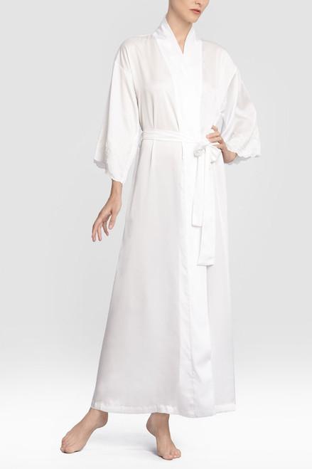 Natori Kasalan Robe with Lace at The Natori Company