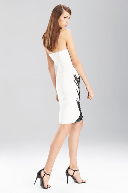 Fluid Crepe Strapless Dress at The Natori Company