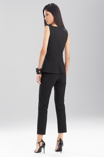 Josie Natori Structured Texture Pants at The Natori Company