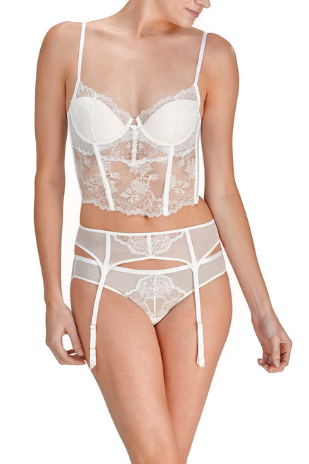 Josie Natori Chantilly Lace Garter at The Natori Company