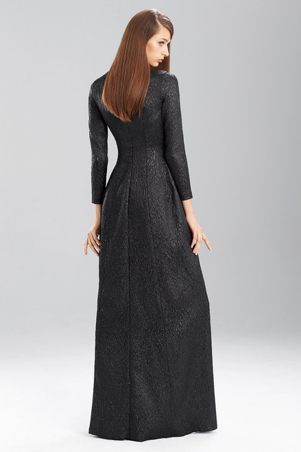 Embossed Texture Dress at The Natori Company