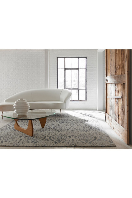 Natori Shangri-La- Distressed Geo Rug at The Natori Company