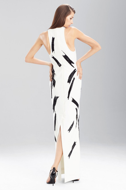 Fluid Crepe Halter Maxi at The Natori Company
