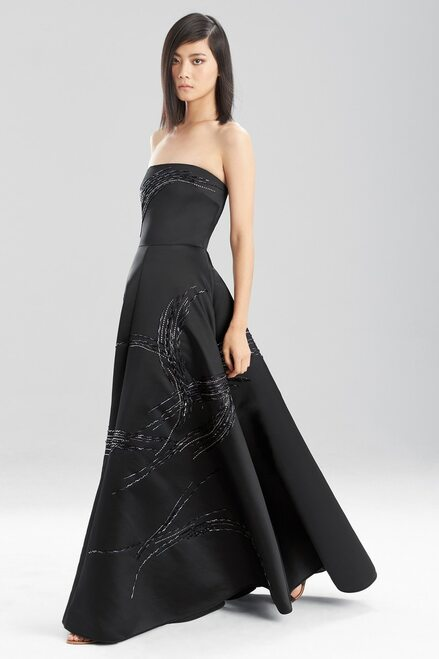 Duchess Satin Strapless Dress at The Natori Company