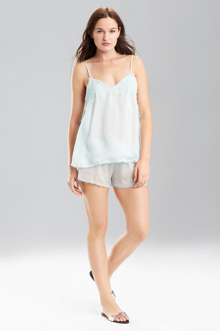 Josie Natori Sheer Bliss Solid Shorts at The Natori Company
