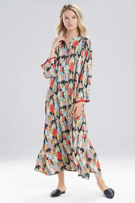 Buy Natori Dynasty Mandarin Zip Caftan from