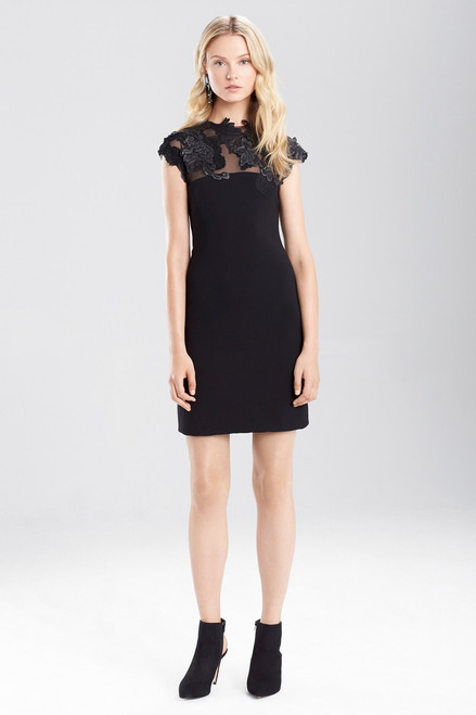 Buy Josie Natori Duchess Satin Dress With Embellishment from