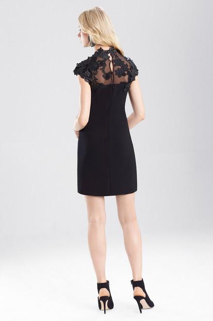 Josie Natori Duchess Satin Dress With Embellishment at The Natori Company
