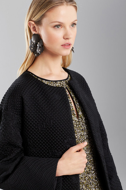 Josie Natori Dragon Jacquard Jacket at The Natori Company