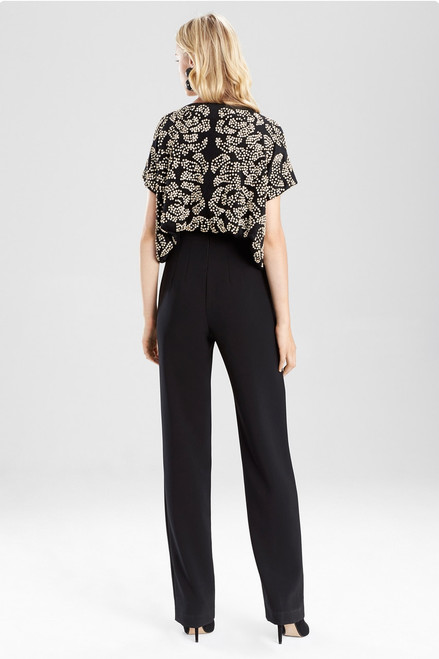 Josie Natori Pony Jersey Bolero at The Natori Company