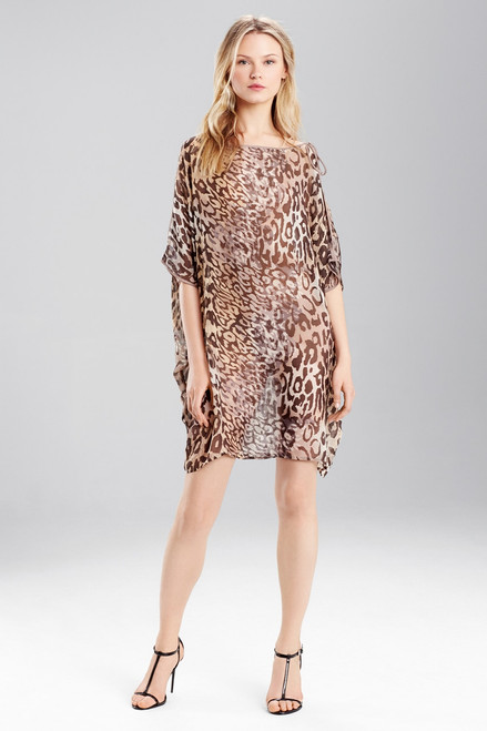Buy Josie Natori Shadow Leopard Top from