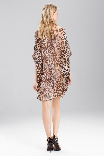 Josie Natori Shadow Leopard Top at The Natori Company