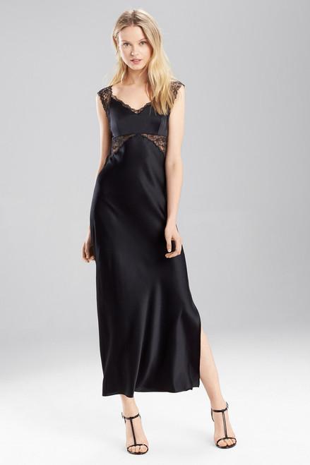 Josie Natori Stretch Silk Charmeuse Gown at The Natori Company