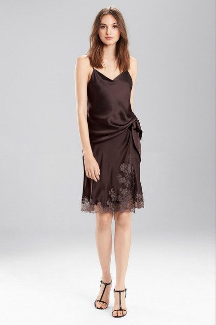 Josie Natori Key Double Layer Cami at The Natori Company