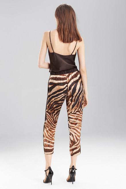 Josie Natori Zebra Pants at The Natori Company
