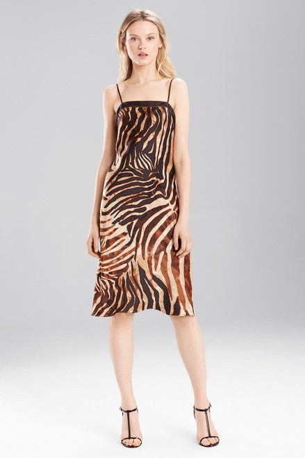 Josie Natori Zebra Chemise at The Natori Company