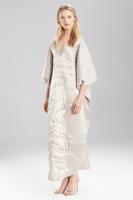 Josie Natori Couture Quilting Caftan at The Natori Company