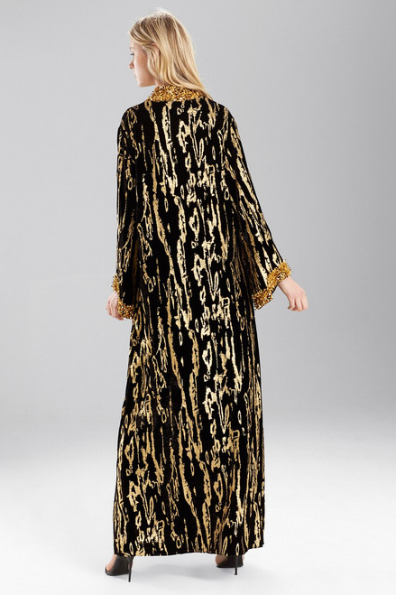 Josie Natori Couture Golden Age Caftan at The Natori Company
