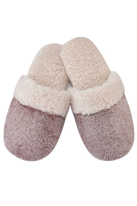 Natori Sherpa Slippers at The Natori Company