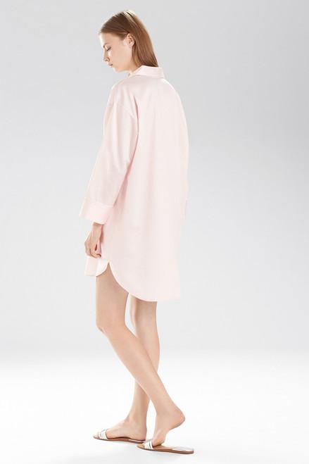 Natori Cotton Sateen Essentials Sleepshirt Style B72028 at The Natori Company