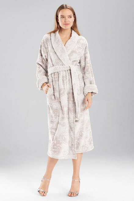 Buy Natori Plush Damask Robe from