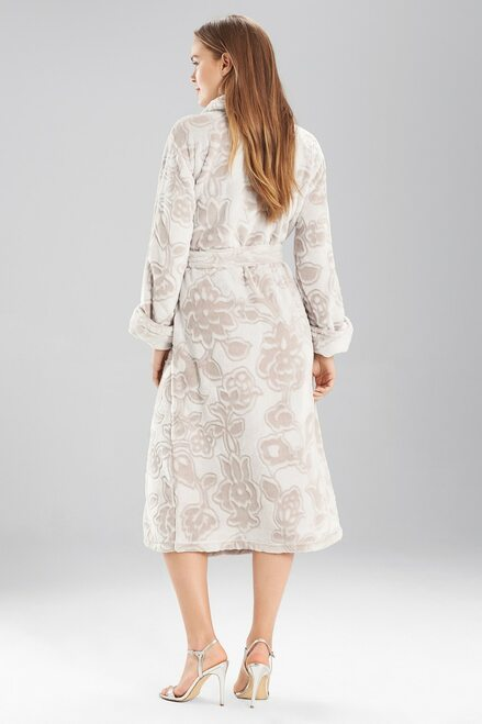 Natori Plush Damask Robe at The Natori Company