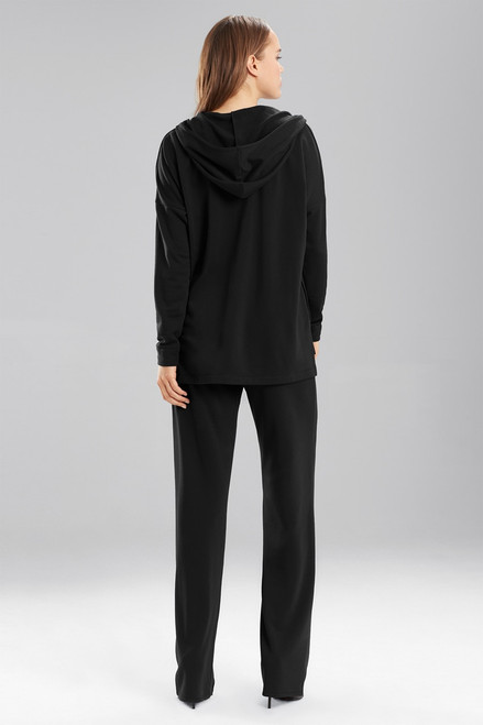 Natori Brushed Hoodie at The Natori Company
