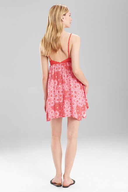 Josie Challis Chemise Red Pink at The Natori Company