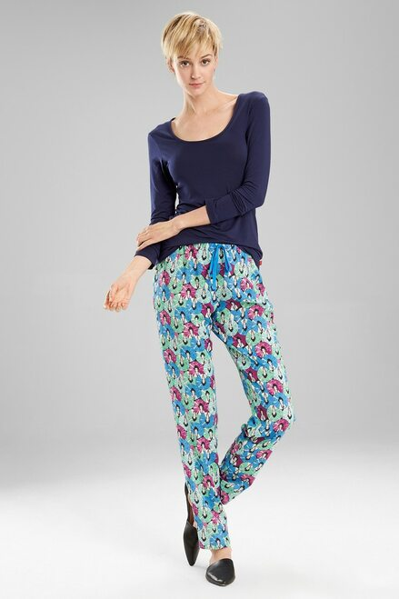 Josie Challis PJ  Blue Green at The Natori Company