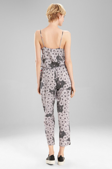 Josie Challis Playsuit Black White at The Natori Company