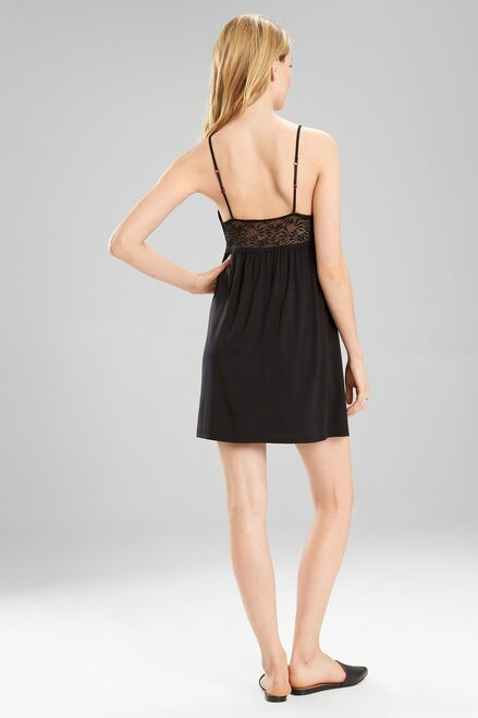 Josie Tile Lily Chemise With Keyhole at The Natori Company