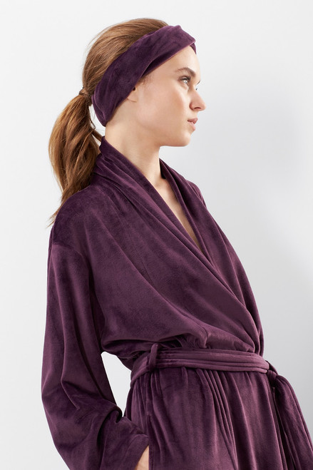 N Natori Velour Robe at The Natori Company