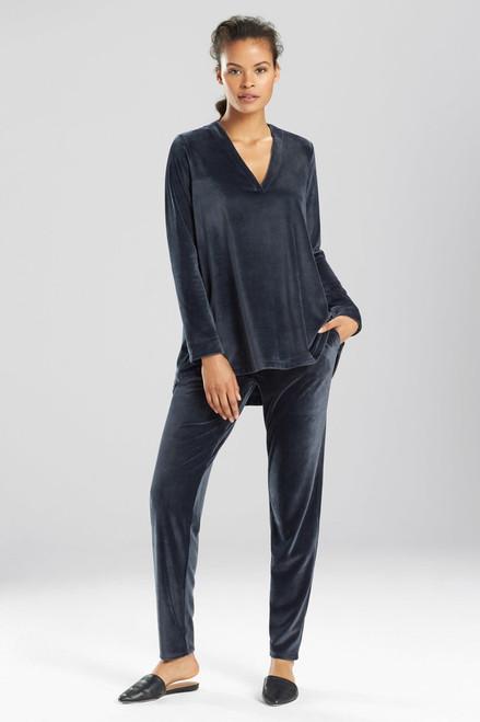 Buy N Natori Velour Long Sleeve Top from