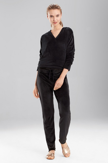 N Natori Velour Lounge Pants at The Natori Company