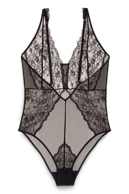 Josie Natori Belle De Jour Bodysuit at The Natori Company