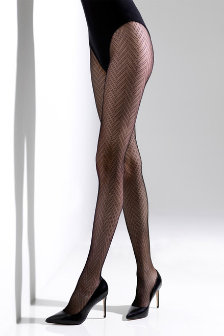 Buy Natori Herringbone Net Tights from