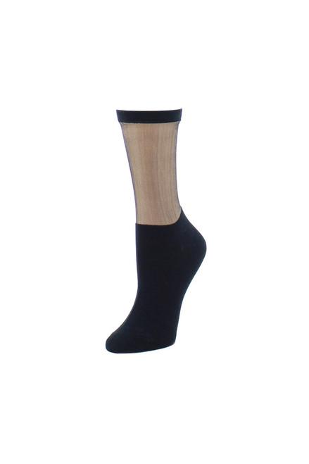 Natori Simple Sheer Crew Socks at The Natori Company