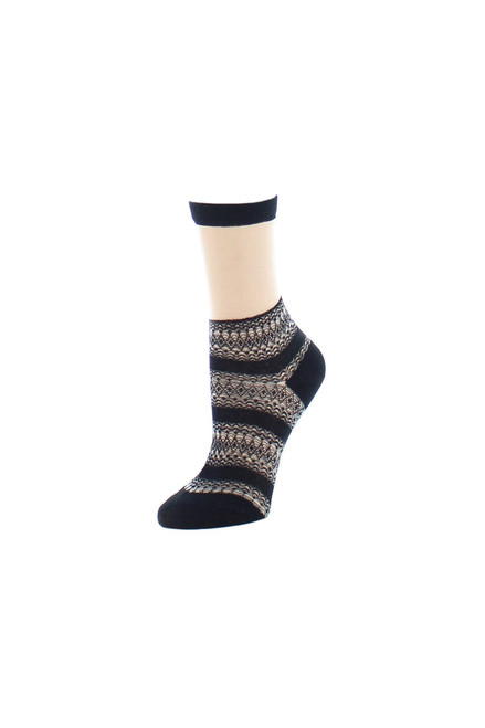 Buy Natori Nouveau Sheer Crew Socks from