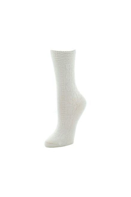 Natori Rib Knit Texture Socks at The Natori Company