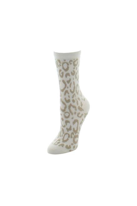 Natori Animal Print Socks at The Natori Company