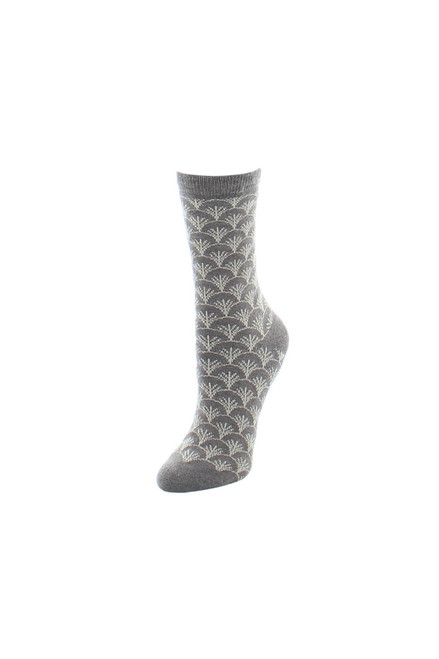 Natori Fretwork Socks at The Natori Company