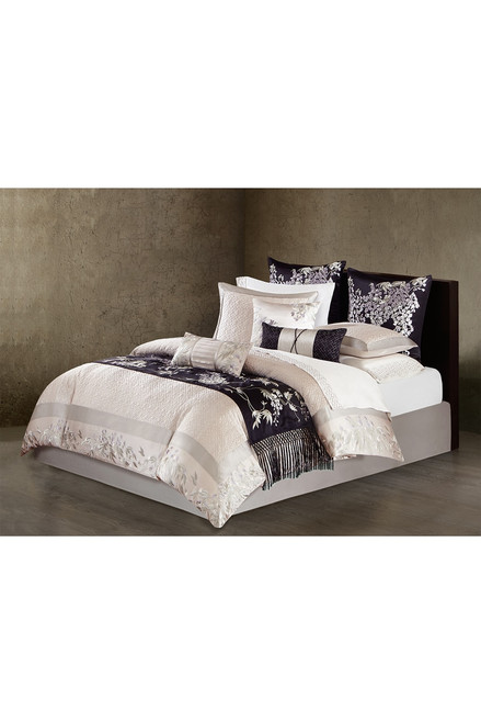Natori Wisteria Quilted Duvet Cover at The Natori Company