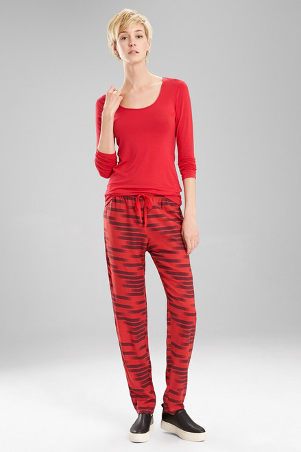 Josie Sparkle Fest PJ RED at The Natori Company